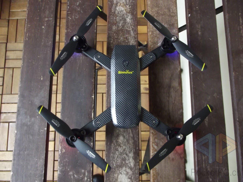Review-Faltbare-Drohne-Simulus-WiFi-FPV-Quadrocopter-von-PEARL-im-Test