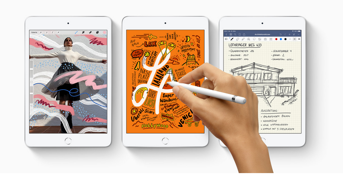 Apple iPad mini 2019 mit Pencil