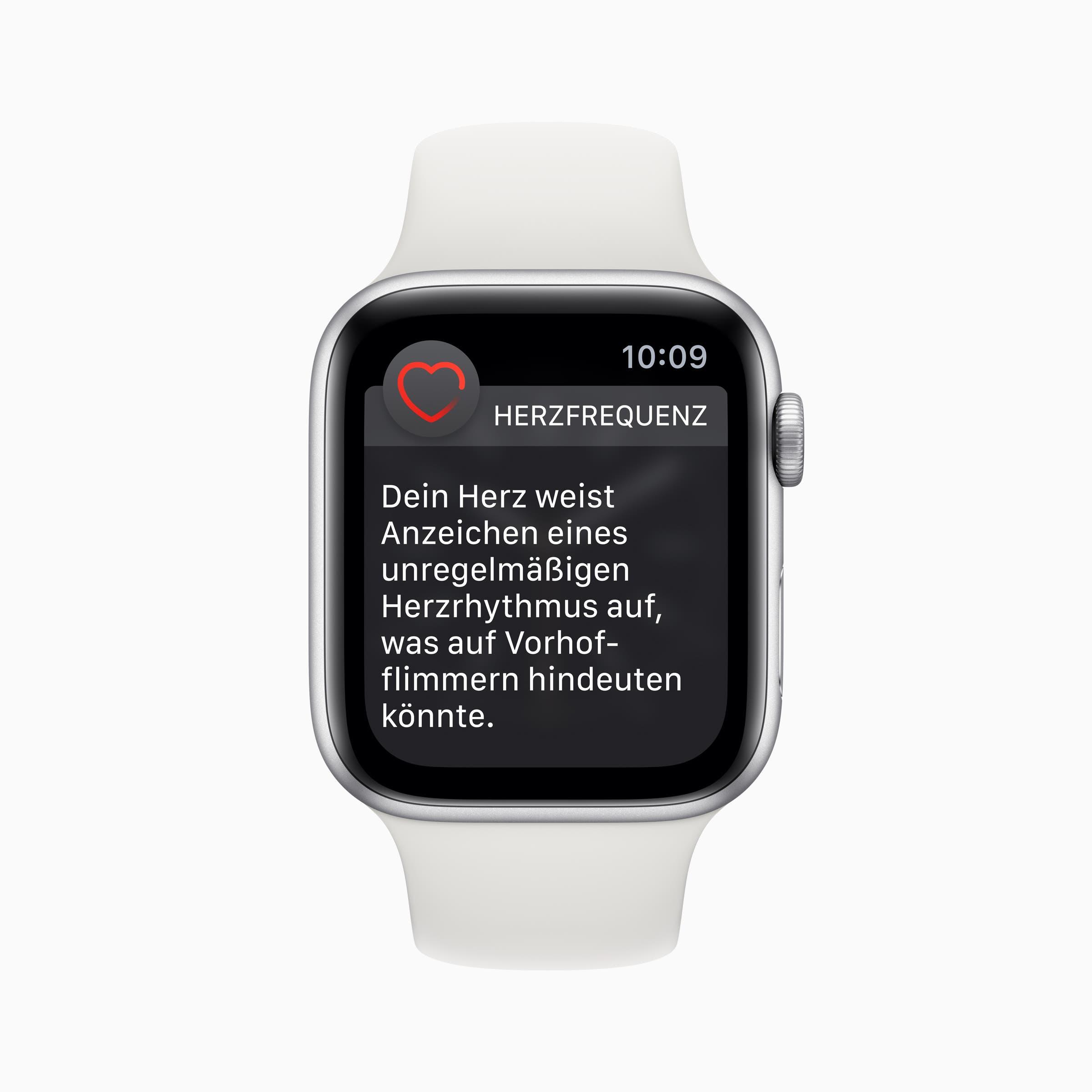 Appel Watch 4 mit watchOS 5.2