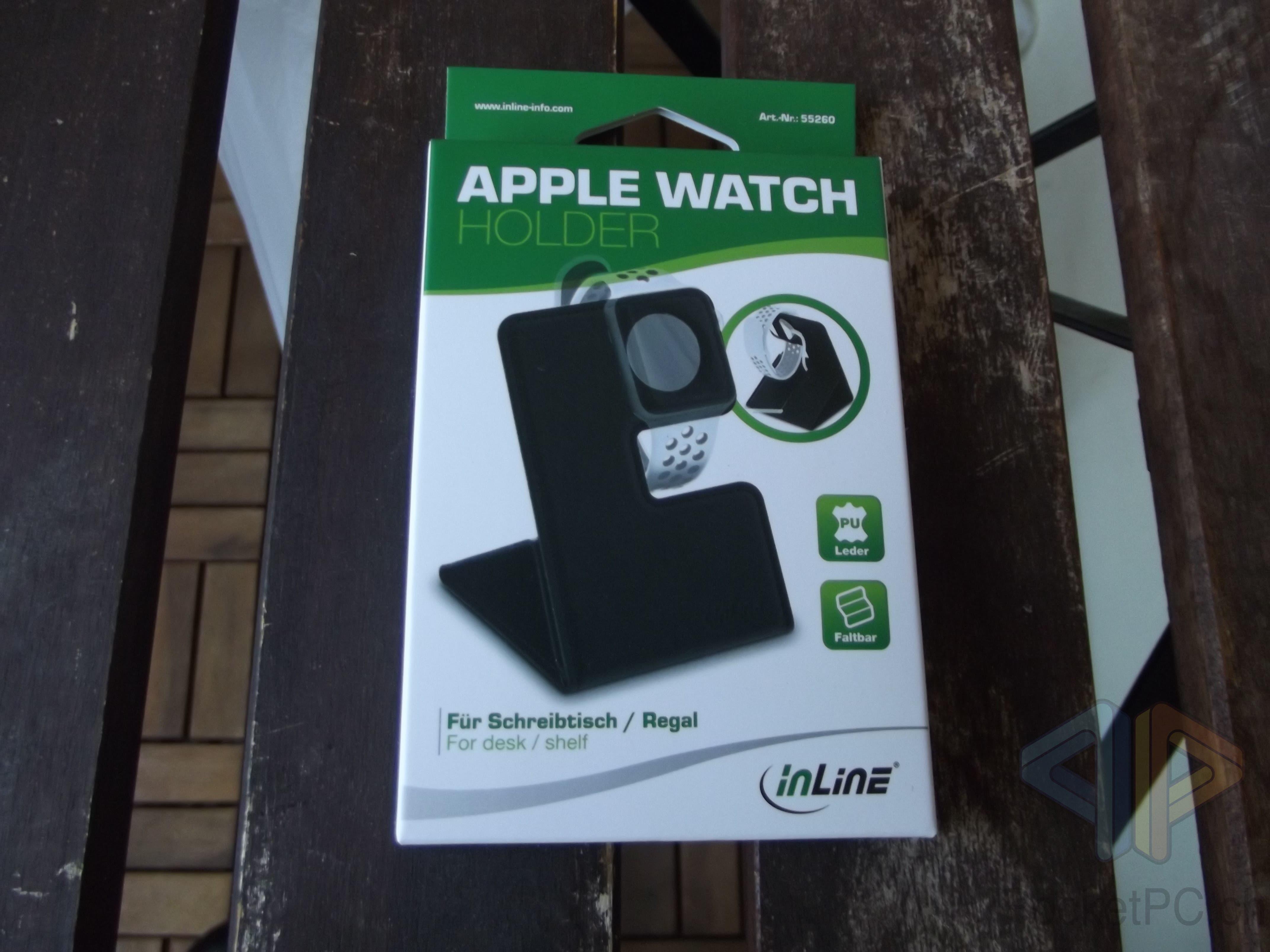 InLine AppleWatch Holder