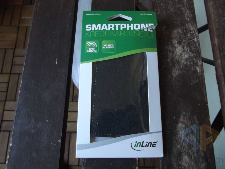 InLine Smartphone Kreditkartenetui