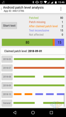 Patch claim check
