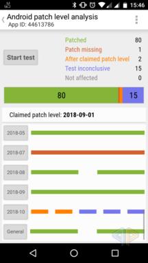 Patch claim check