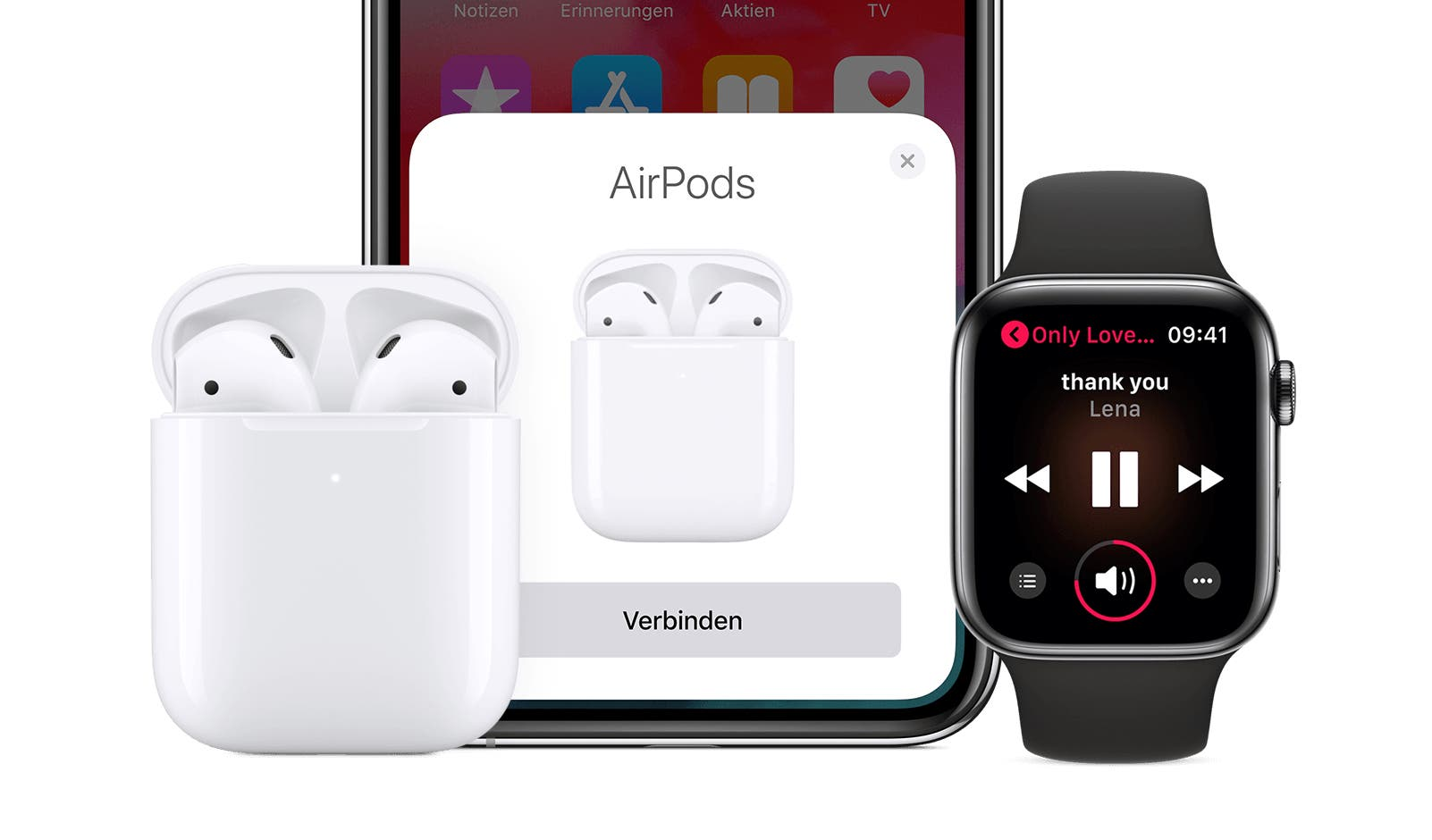 apple iphone 11 dual audio mit bluetooth f r das iphone 2019. Black Bedroom Furniture Sets. Home Design Ideas