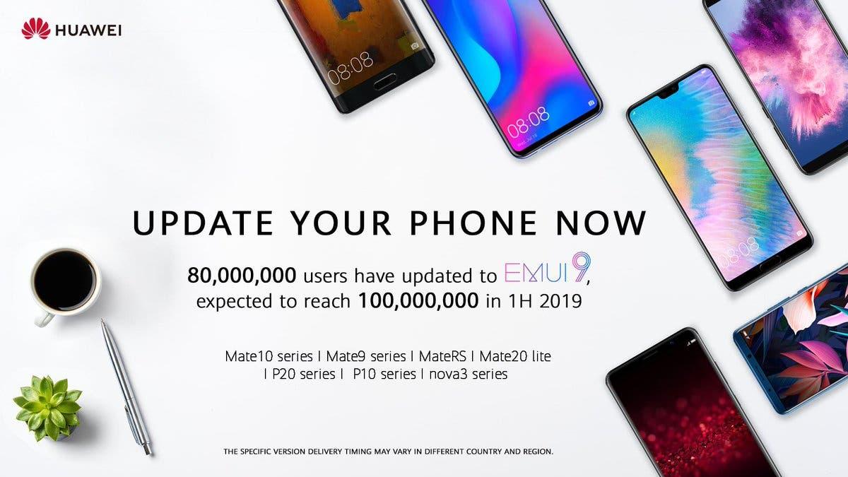 Huawei EMUI 9 Update