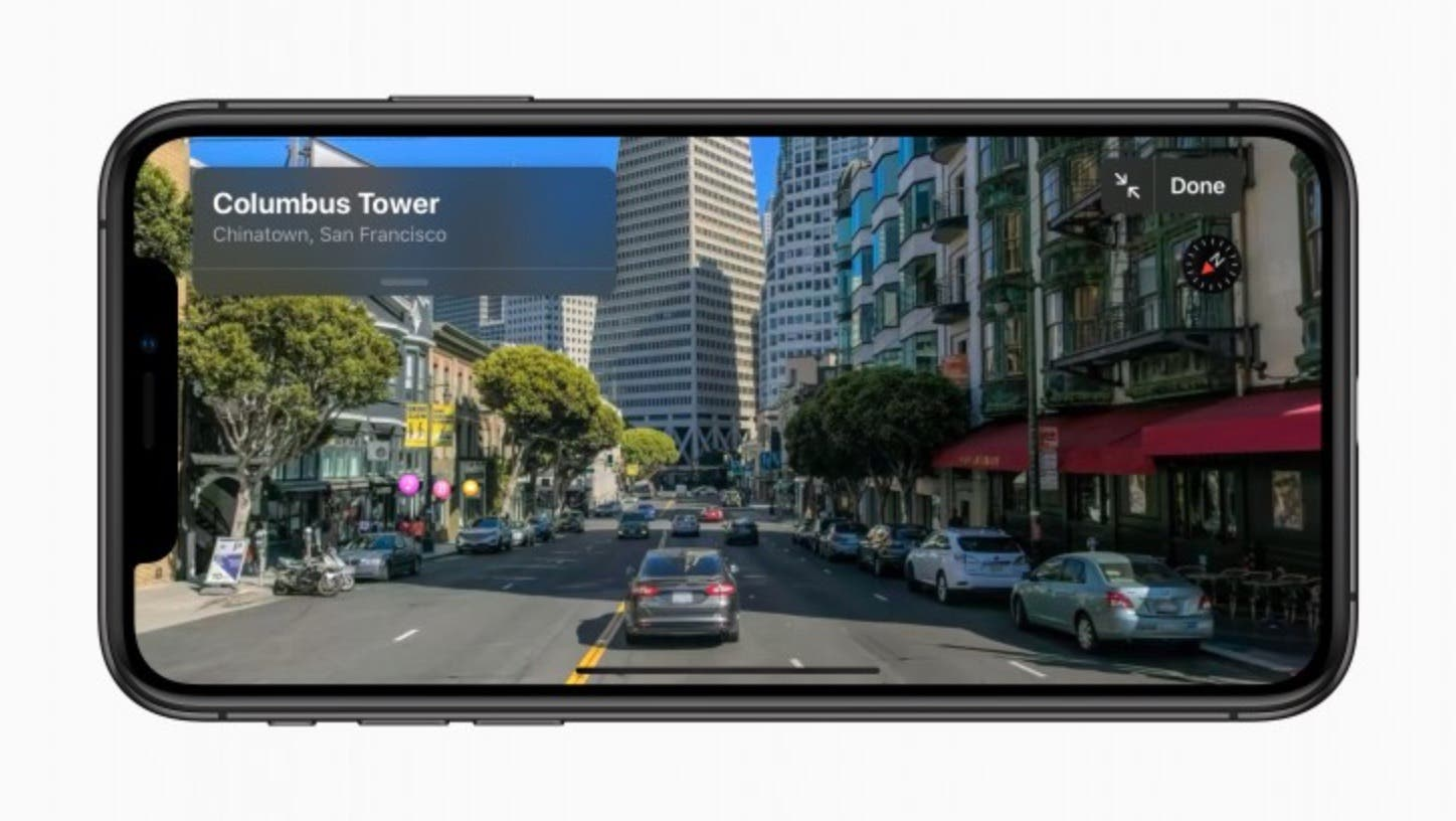 Apple Maps in iOS 13 mit Street View