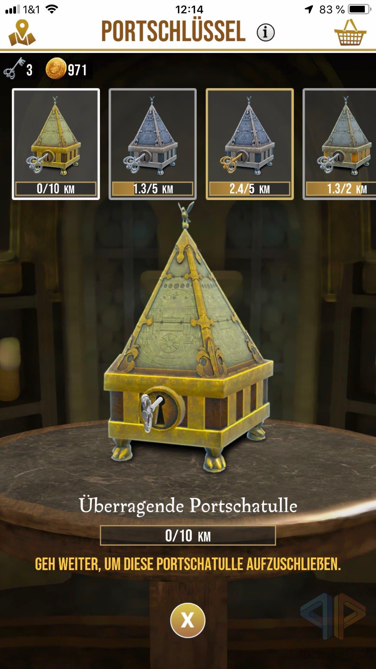 Harry Potter: Wizards Unite Portkeys