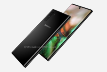 Samsung Galaxy Note 10 Design Leak von OnLeaks