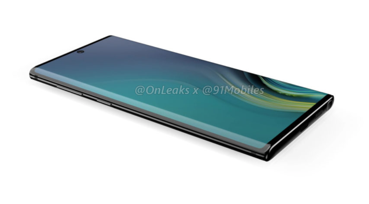 Samsung Galaxy Note 10 Display Leak