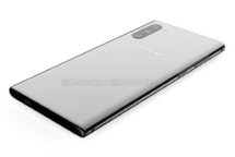 Samsung Galaxy Note 10 Rückseite Design Leck