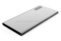 Samsung Galaxy Note 10 Rückseite Design Leck