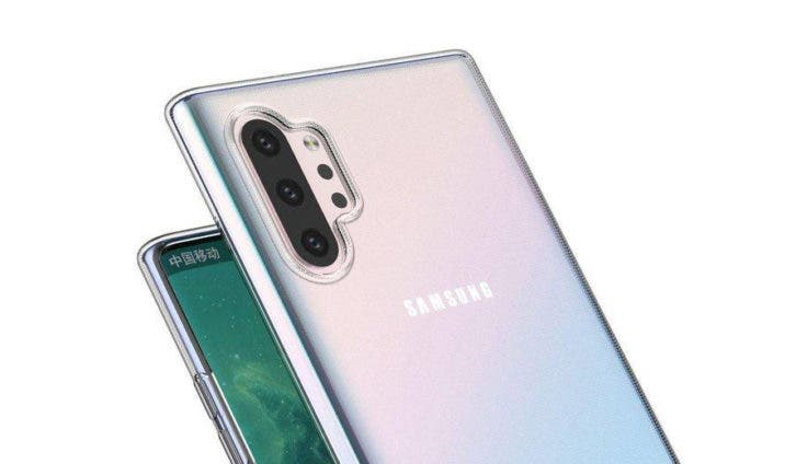 Samsung Galaxy Note 10 Pro Design-Leak mit Hülle