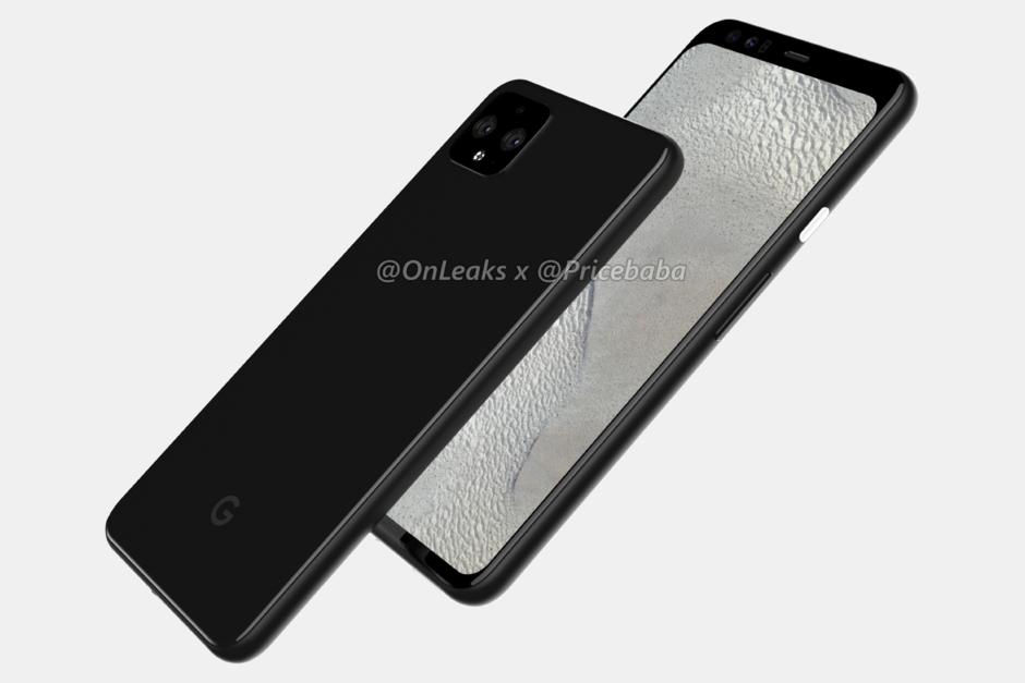 Google Pixel 4 Render-Design