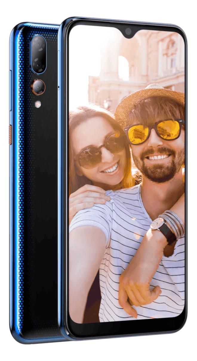 HTC Desire 19+ in Blau