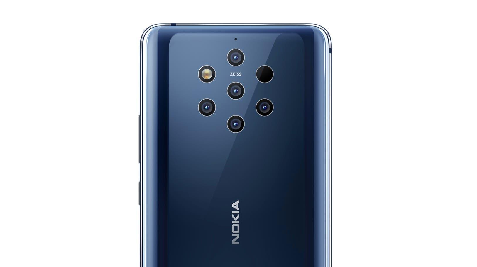 Nokia 9 Light Penta Kamera