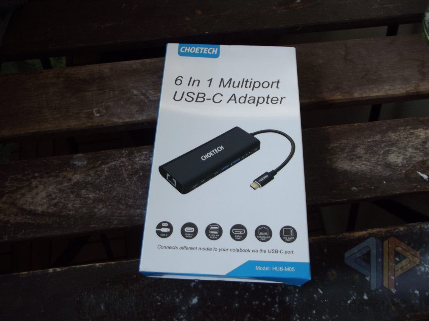 Choetech 6 In 1 Multiport USB-C Adapter