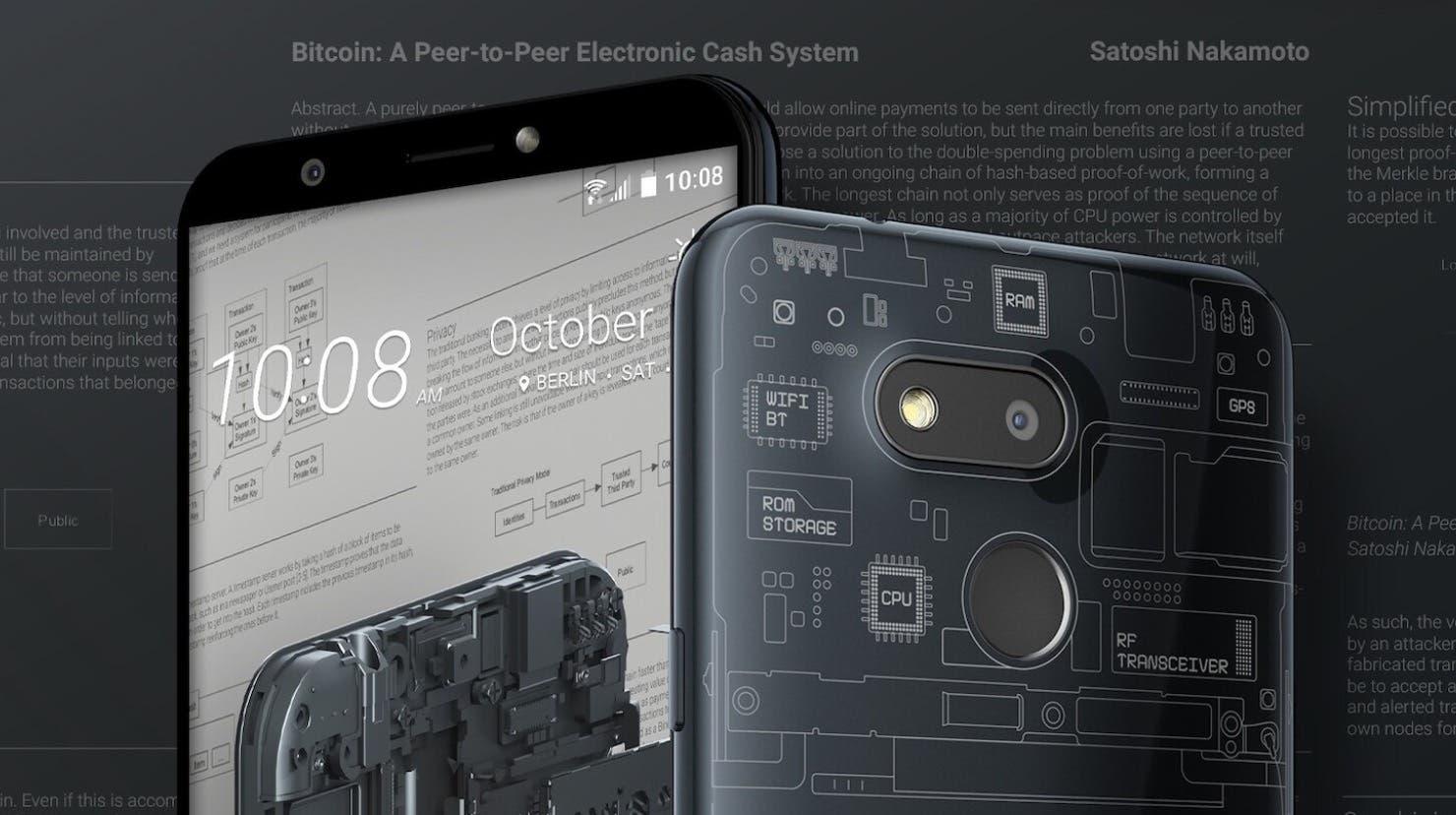 HTC Exodus 1S Blockchain-Phone