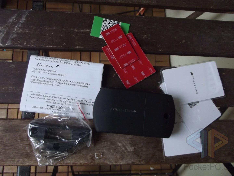 PEARL VisorTech Schubladenschloss mit Bluetooth und RFID