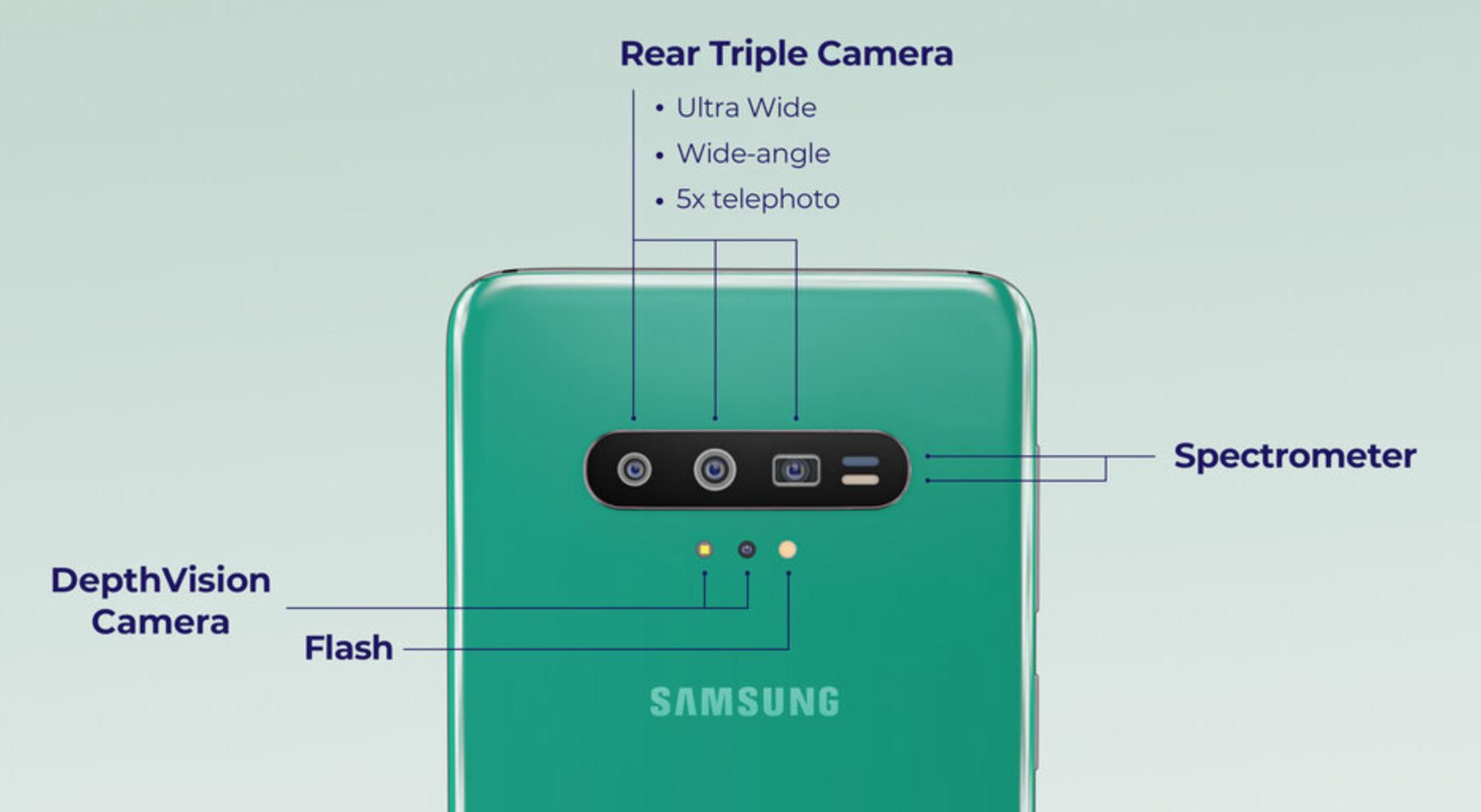 Samsung Galaxy S11 Concept-Render