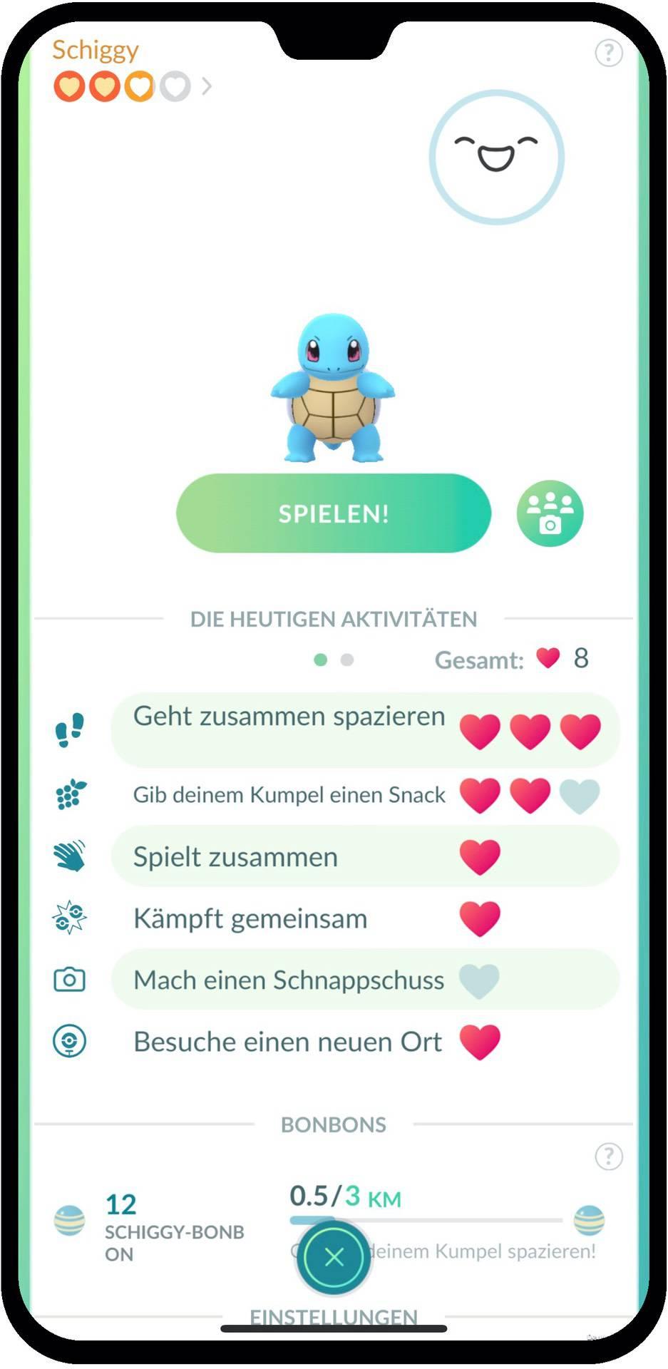 Pokemon Go Kumpel