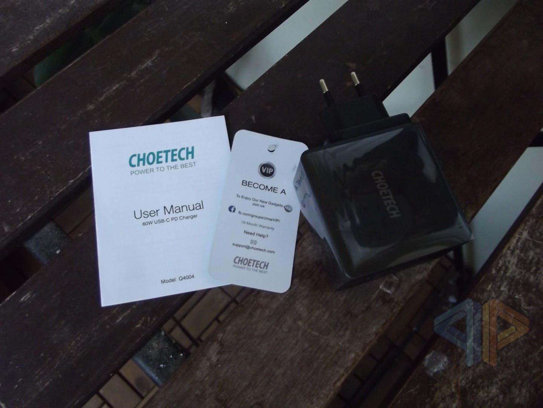 Choetech 60W USB-C PD Charger 3.0 Q4004