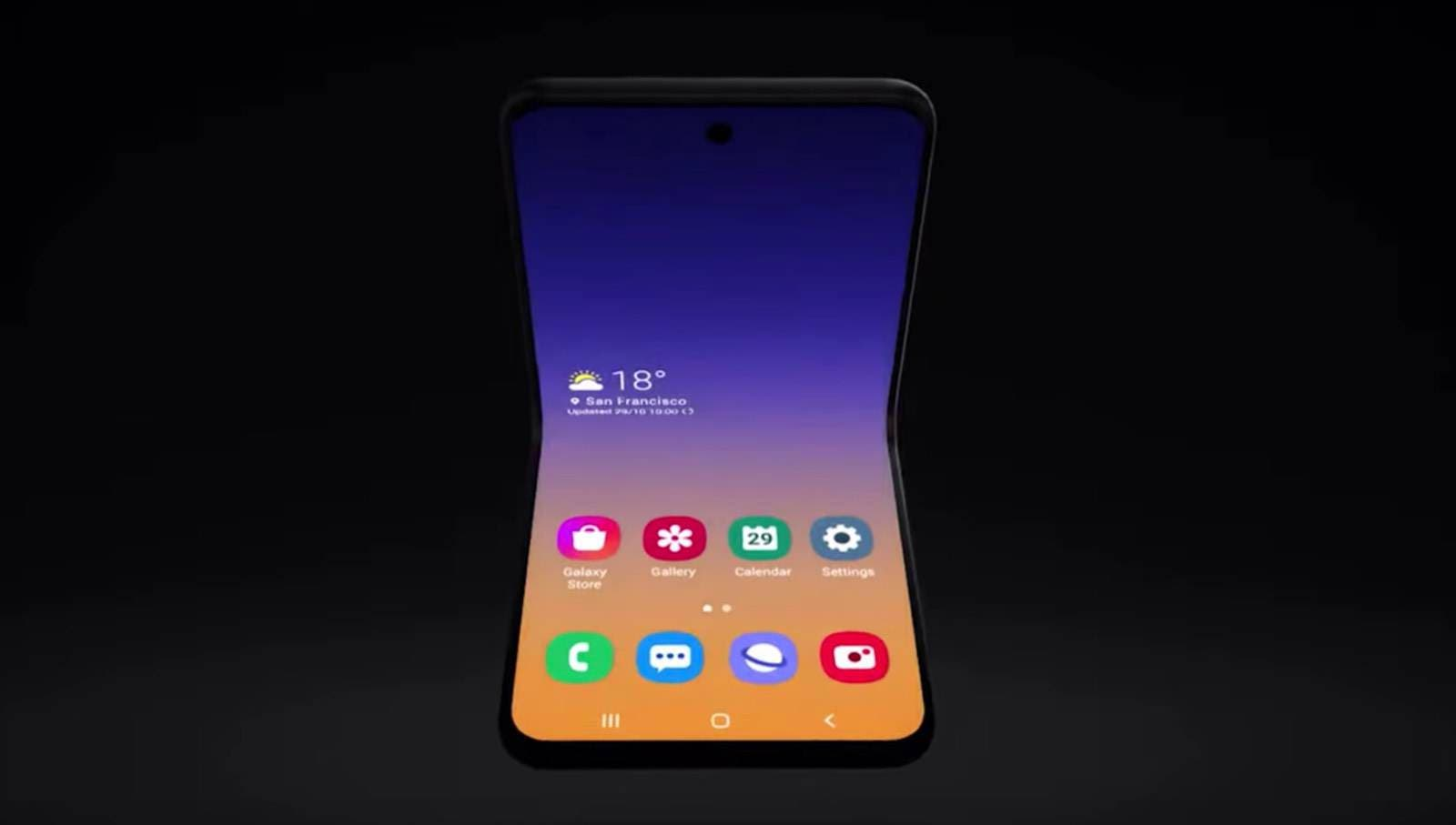 Samsung Galaxy Fold 2 Concept