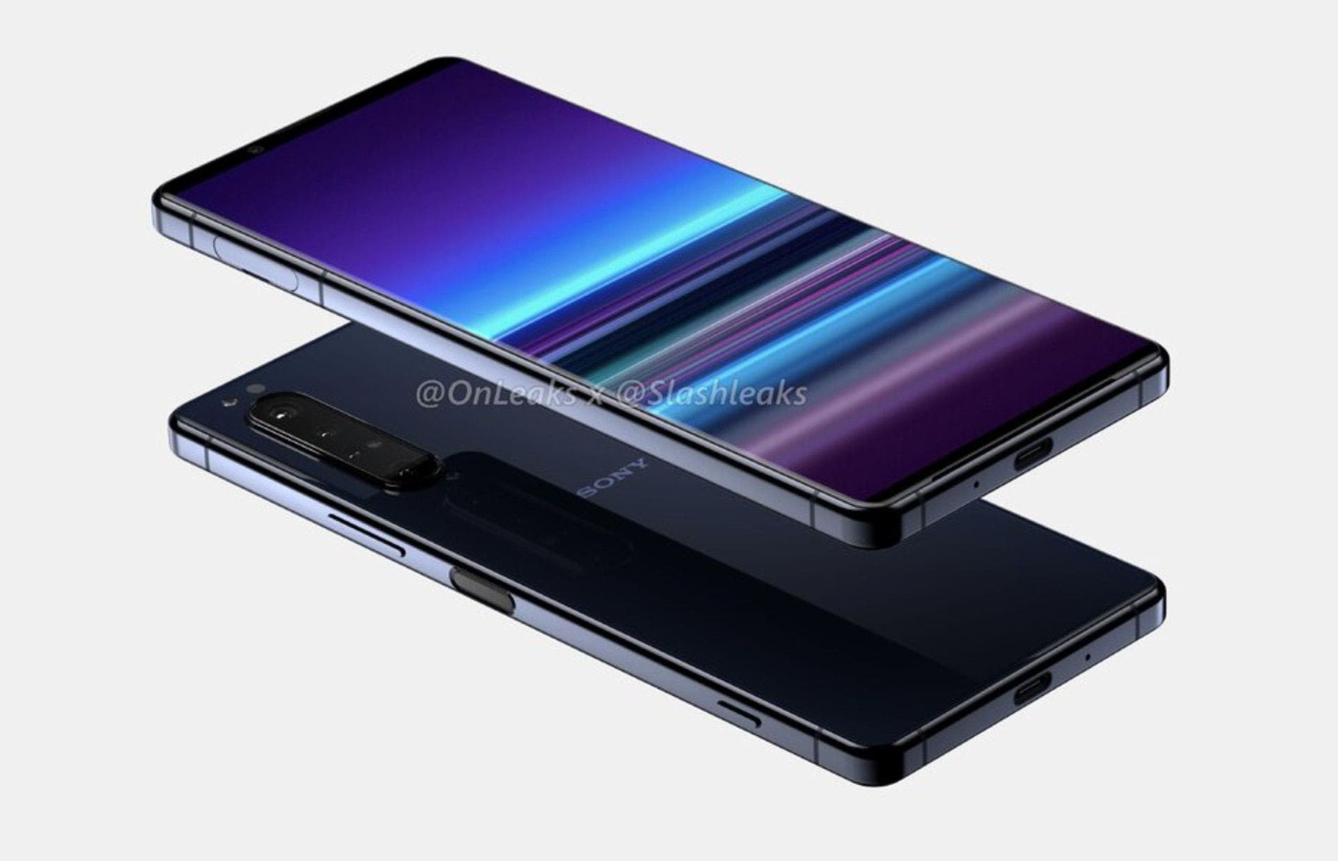 Sony Xperia 1.2 Design-Leak