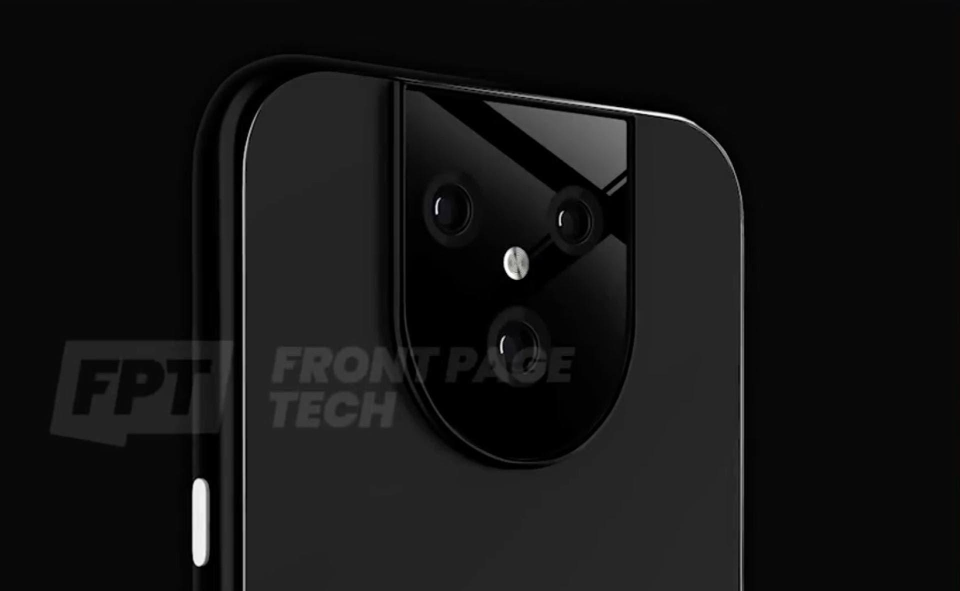 Google Pixel 5 XL Kameradesign Leak