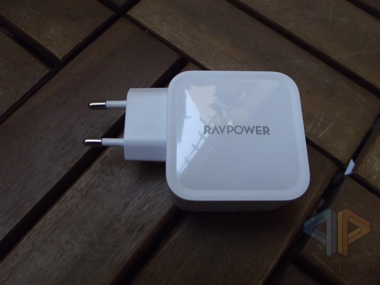 RAVPower USB-C GaN 65W Ladegerät RP-PC133