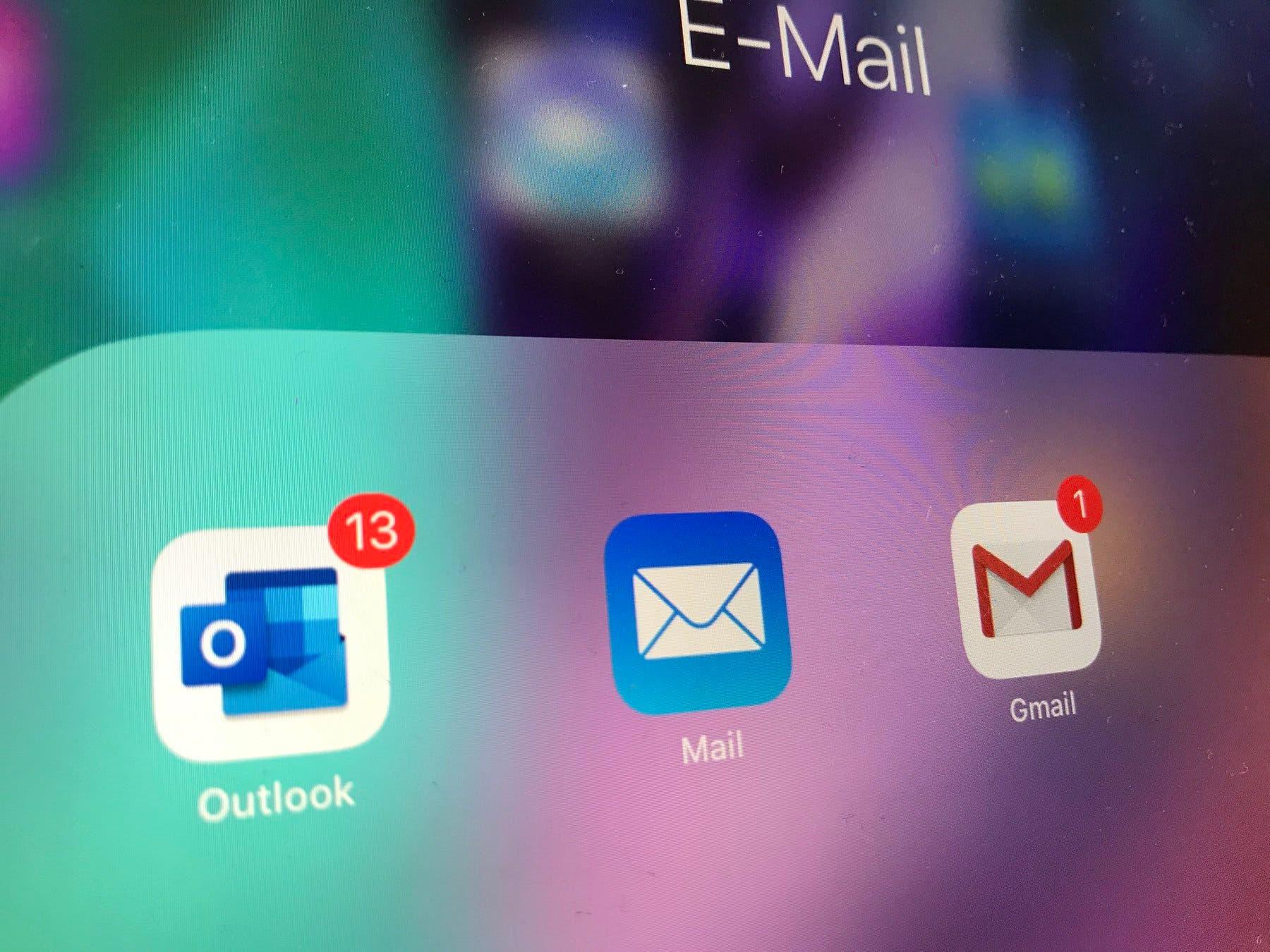 Apple Mail App iPad Pro