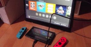 Auvisio mobiler Full-HD-Monitor NX-4650 mit Nintendo Switch
