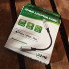 InLine Audio Adapter Kabel Lightning