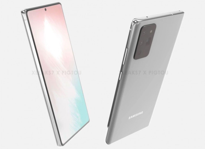 Galaxy Note 20 Design Leak