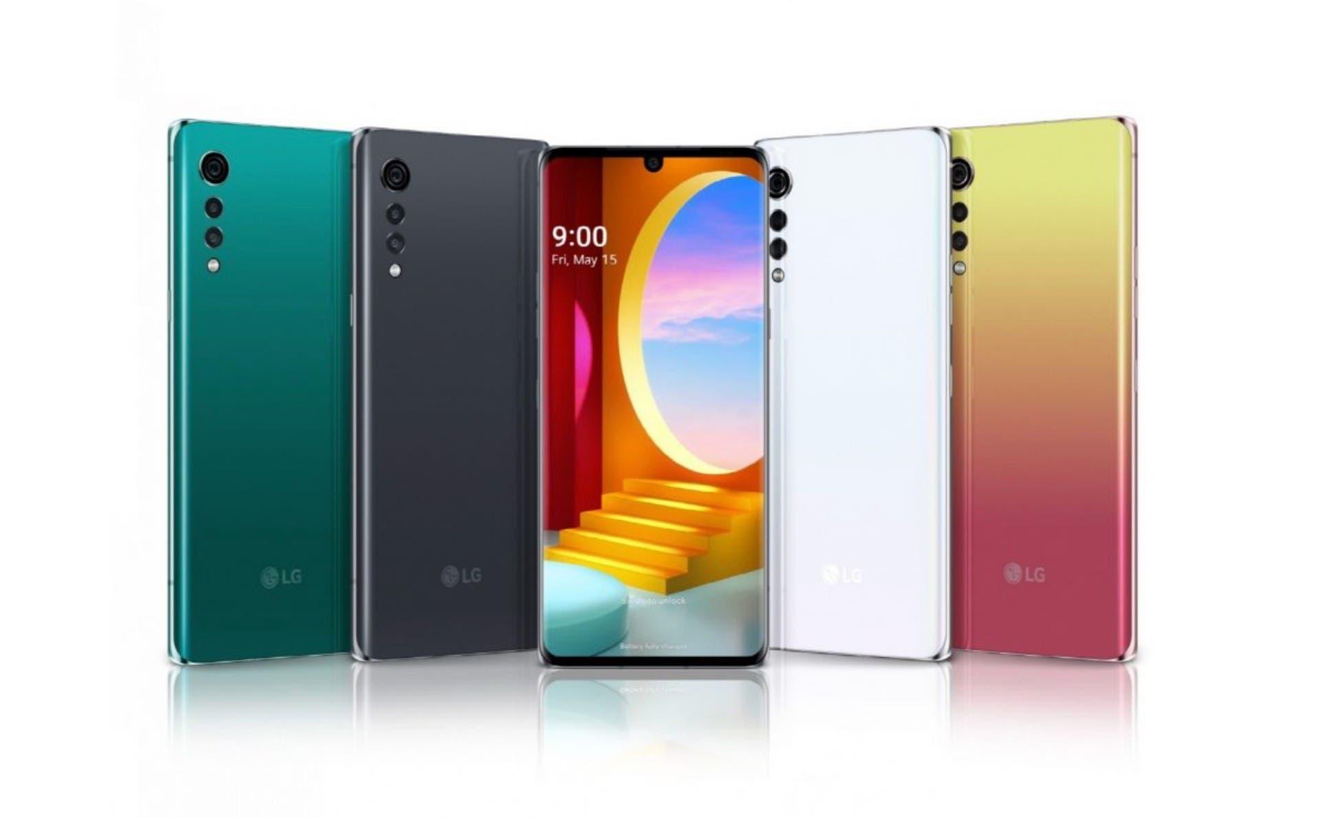 LG Velvet Farben