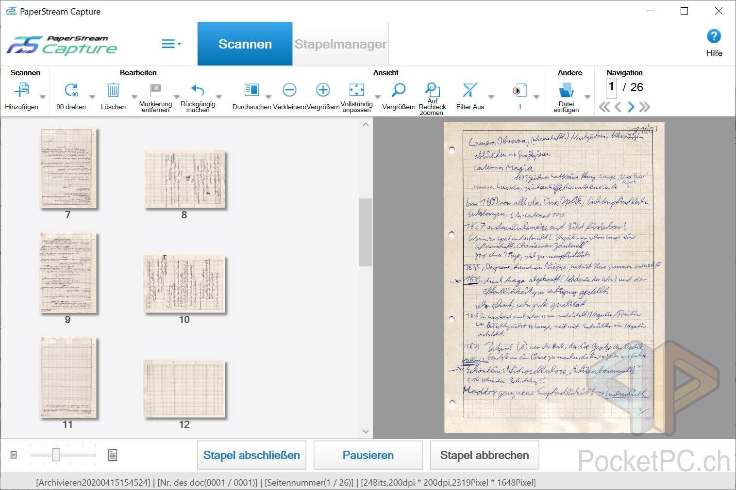PaperStream Capture fi-800R