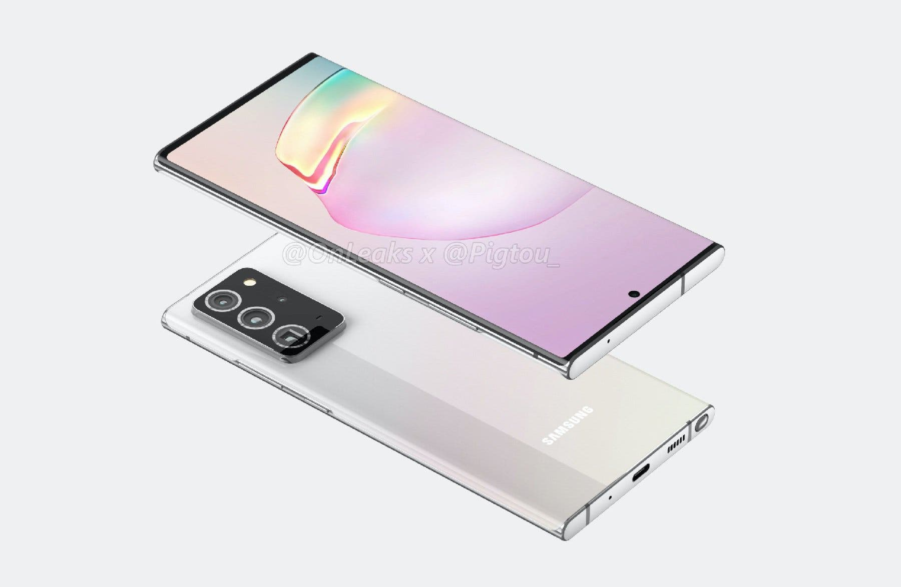 Samsung Galaxy Note 20 Konzeptbild