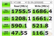 CrystalDiskMark 6 KIOXIA NVMe 1 TB SSD EXCERIA