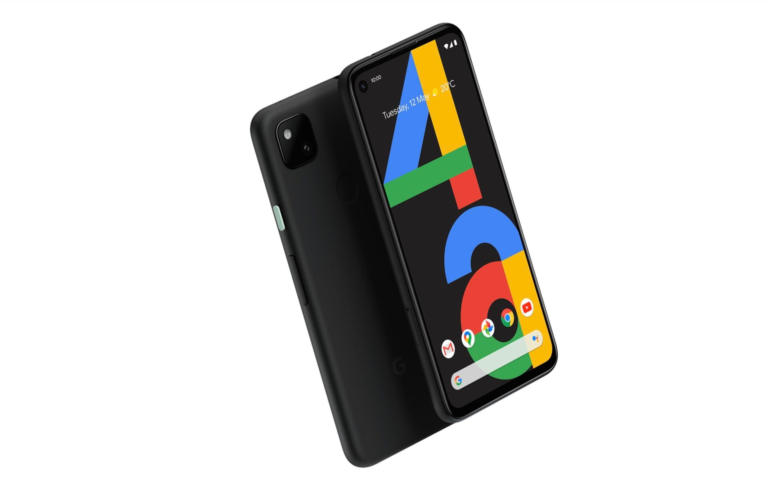 Google Pixel 4a Schwarz