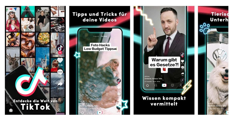 TikTok im Google Play Store