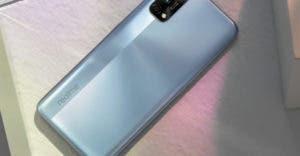 Realme 7 Pro in Silber
