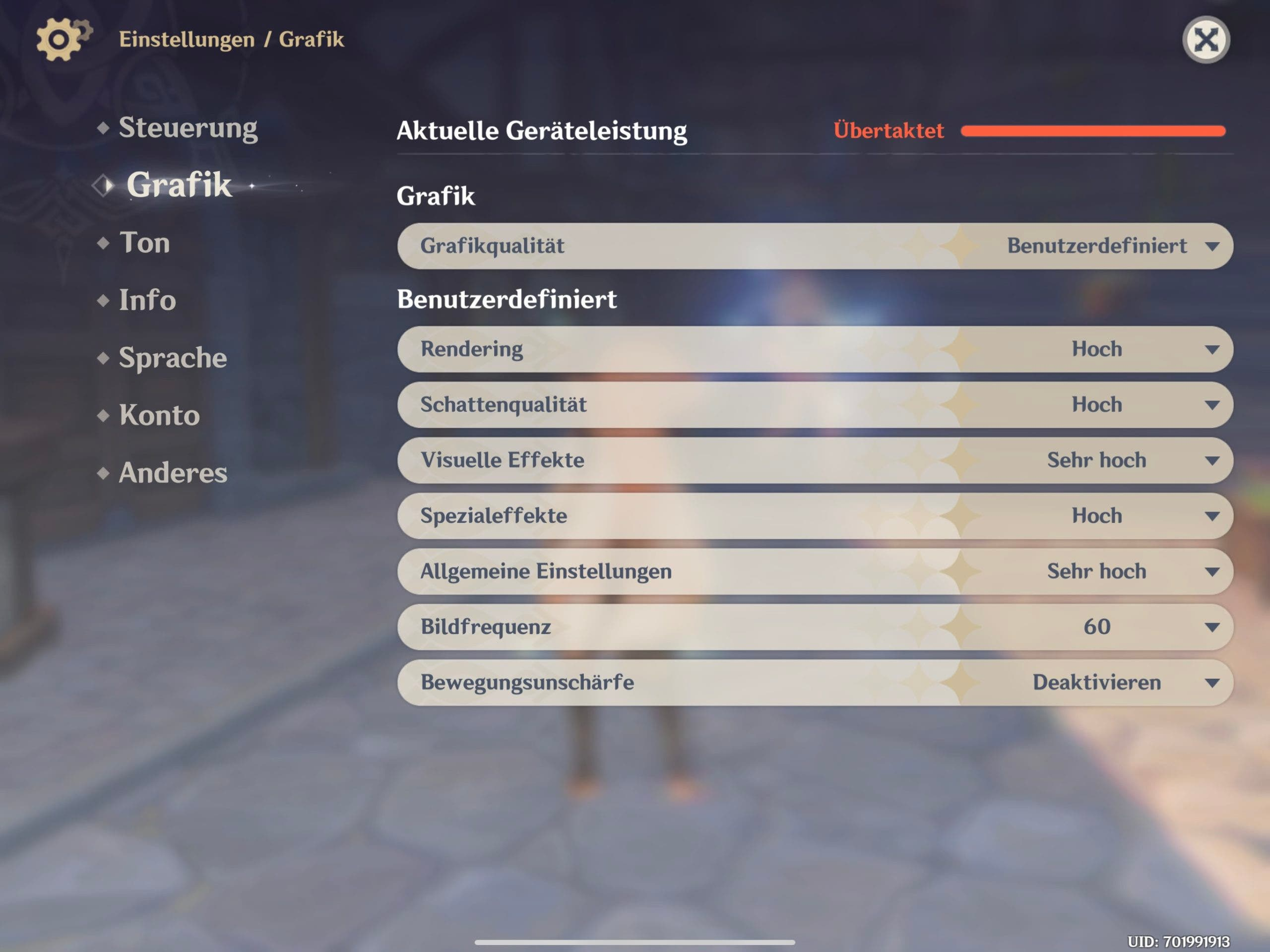Genshin Impact im Test iOS-Version