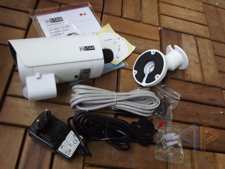 INSTAR IN-9008 FullHD PoE IP-Kamera