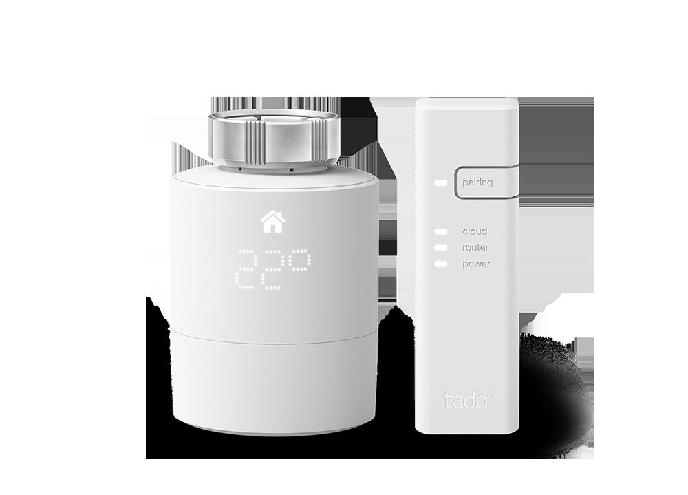 tado Smartes Heizkörper-Thermostat Starter Kit