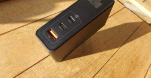 Baseus GaN 2 Pro USB C QuickCharger 120 W