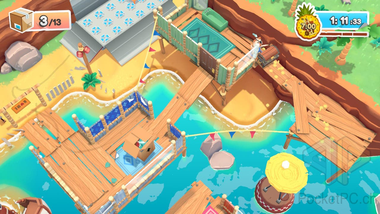 Moving Out - Movers in Paradise für Nintendo Switch