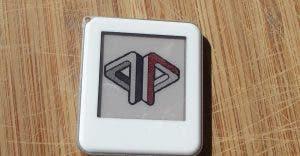 NFC e-Paper 1.54 Zoll Waveshare Anhänger