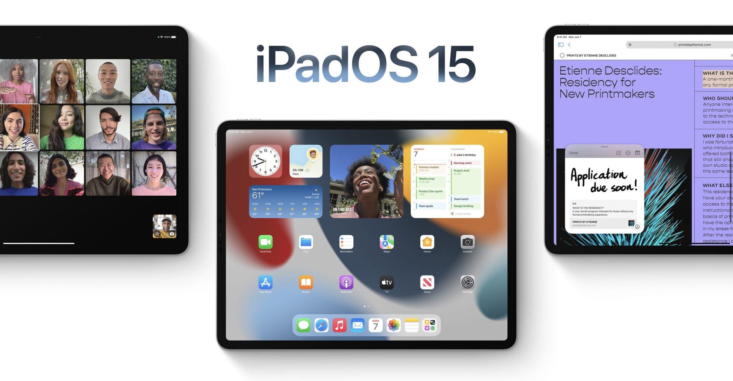 iPadOS 15 auf der WWDC 2021