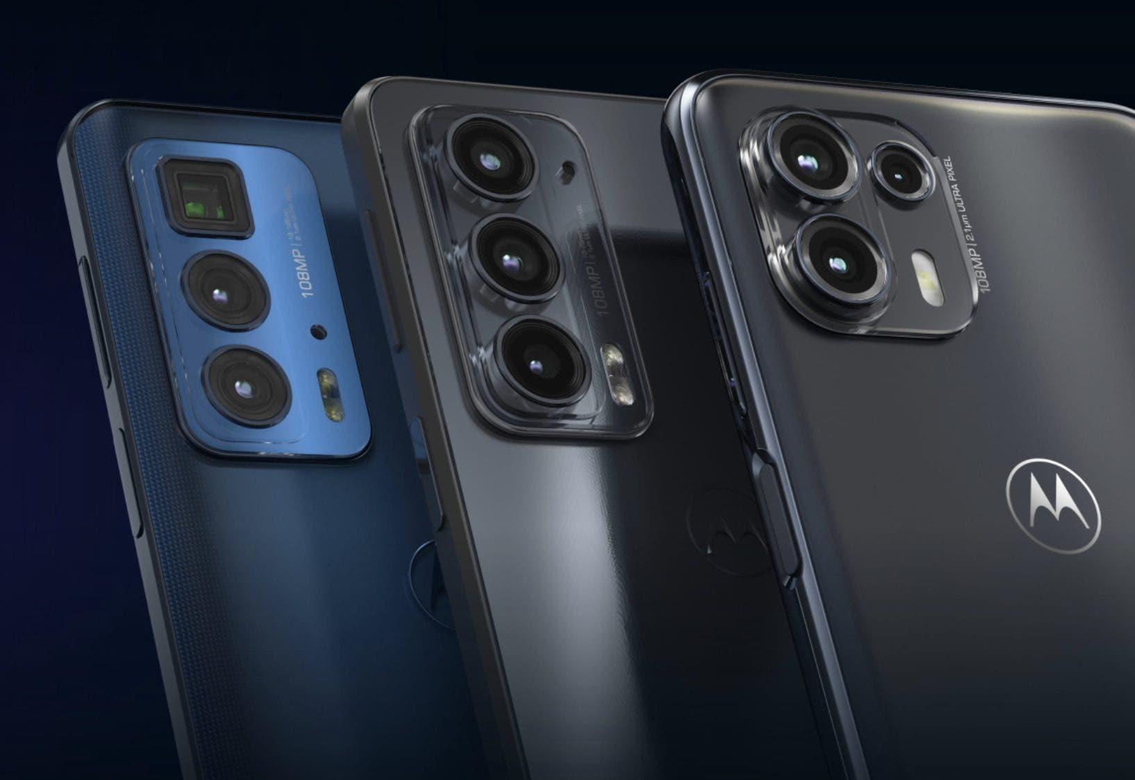 Motorola Edge 20 Series Rückseite