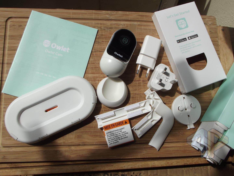 Owlet Babymonitor Duo - Baby Smartwear Owlet Smart Sock 3 und Owlet Babyphone Camera