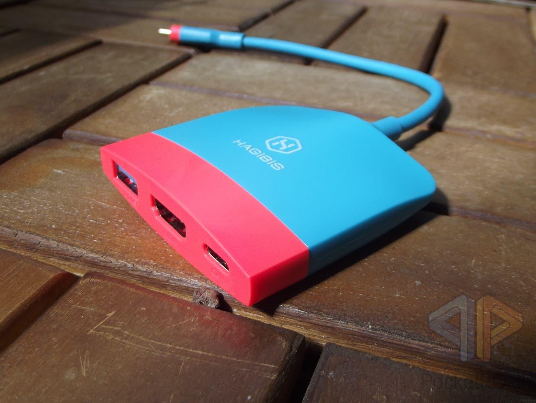 HAGiBiS USB-C Hub für Nintendo Switch